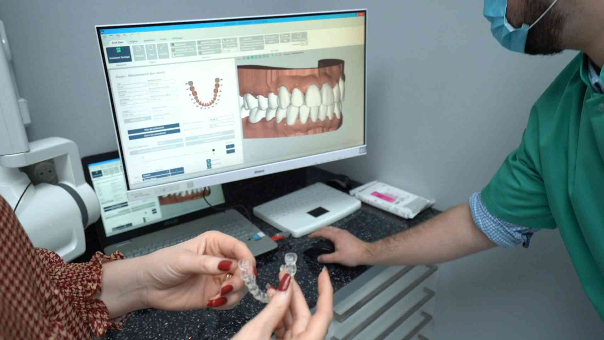 3D orthodontic design software