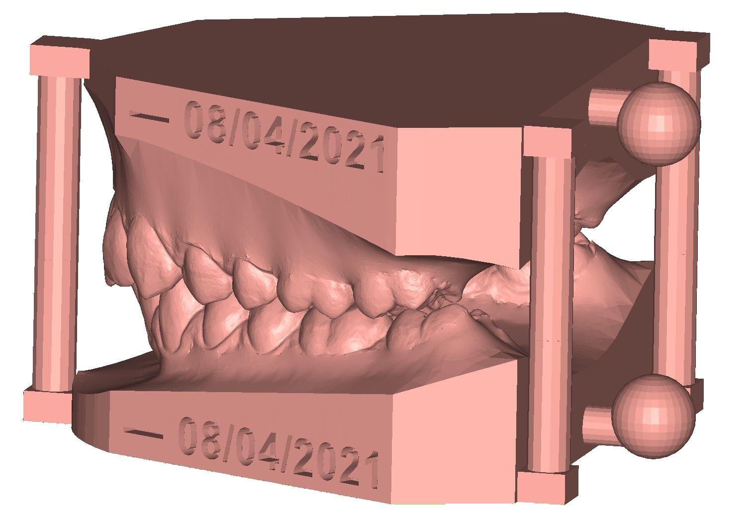 Arch Base Virtual model creation
