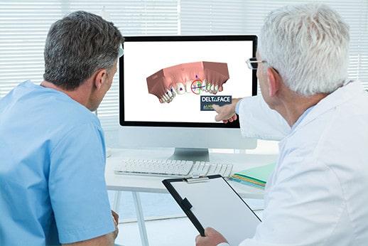 Deltaface pour les laboratoires dentaires d'orthodontie ou les orthodontistes
